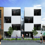 Refined Design for Modern Infill Project as Envisioned