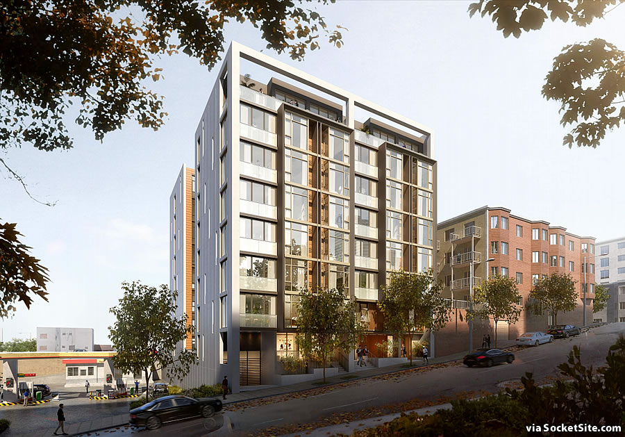 Ambitious Franklin Street Infill Project Newly Rendered