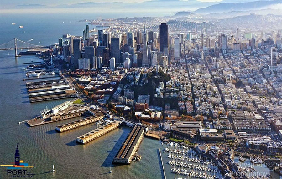 Port Soliciting Concepts for Thirteen of San Francisco's Historic Piers