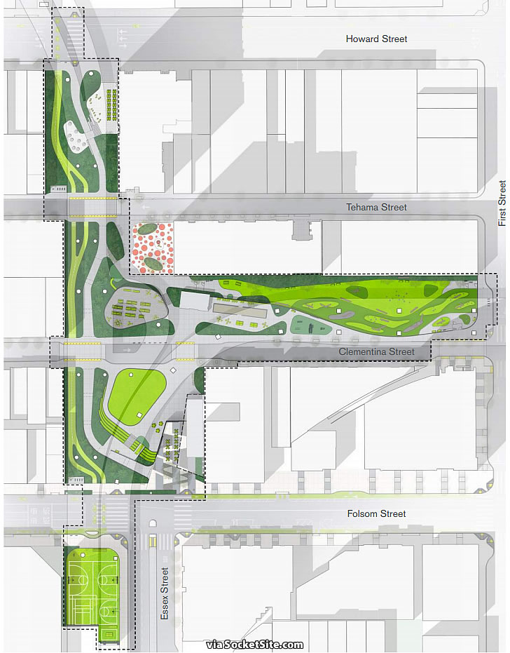 Refined Plans and Timing for the Next Big Transbay District Park