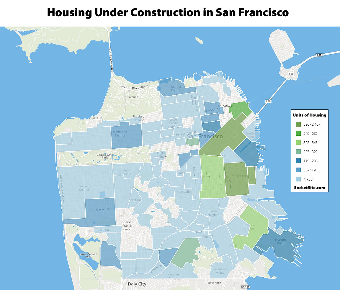 Where They're Building in San Francisco