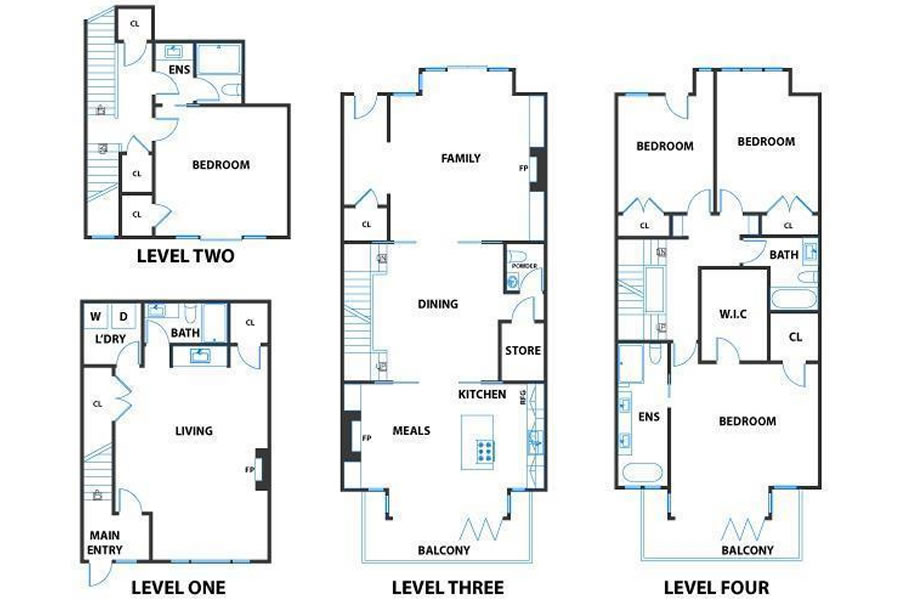 525 28th Street Floor Plan