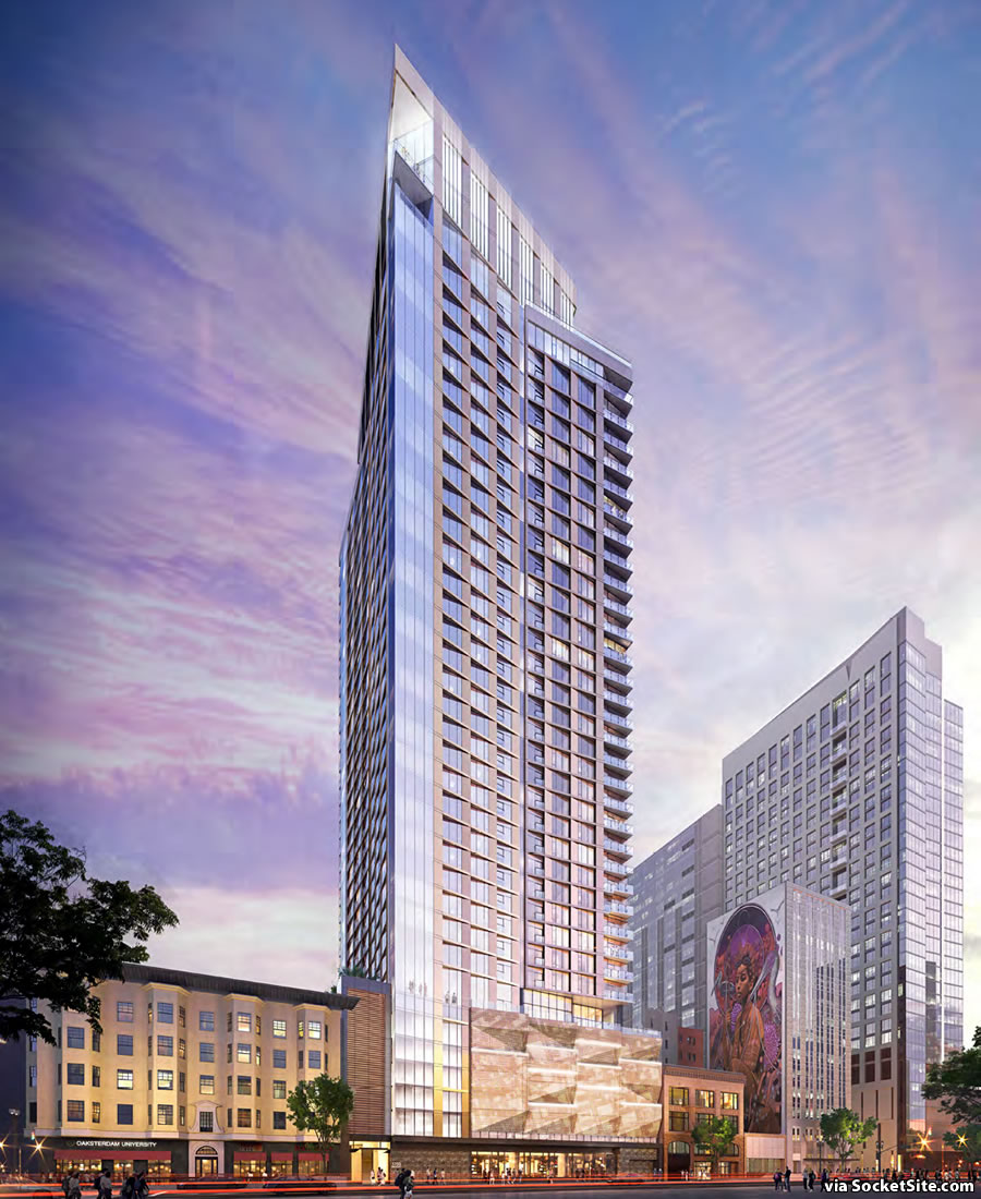 Proposed Oakland Tower Design Refined, Sticking Point Remains