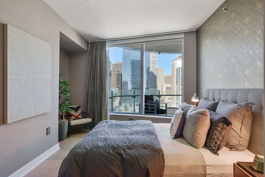 201 Folsom Street #16C - Bedroom