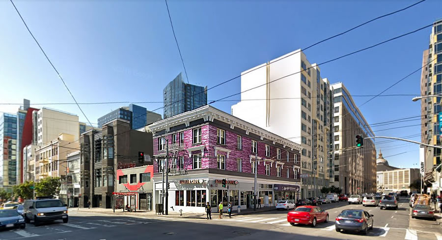 Big Plans for a New Mid-Market Hotel to Rise Right Here