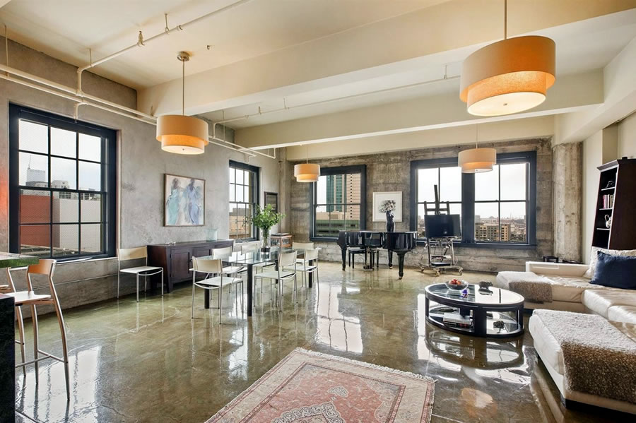 Modern Mid-Market Loft Nearly Fetches its 2013 Price