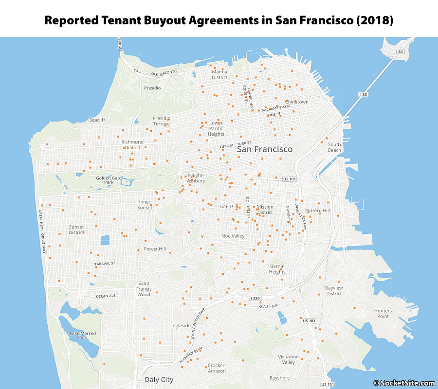 Tenant Buyouts Tick Up in San Francisco, Averaged $48K Last Year