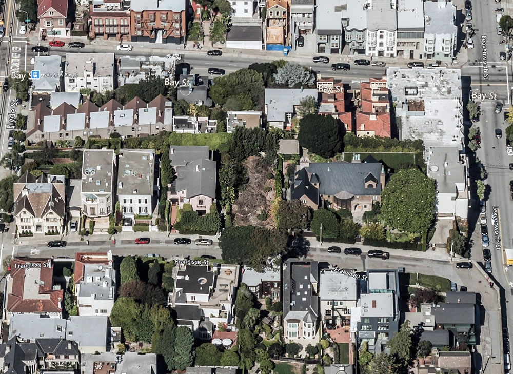 Prime Russian Hill Parcel Sits Squarely in the City's Sights