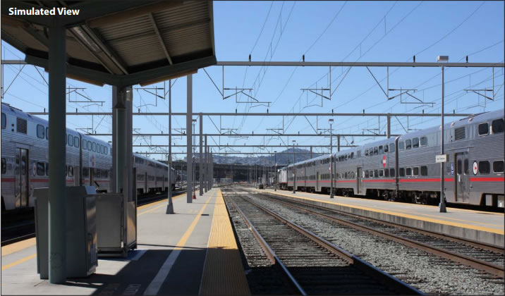 Image result for caltrain electrification