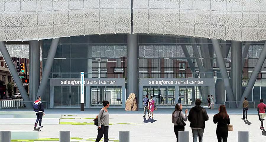 Image result for salesforce transit center